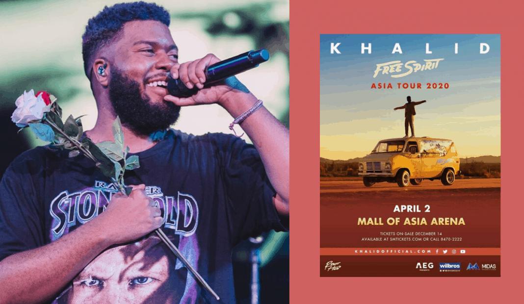 Khalid Tour 2020.Khalid Is Coming Back To Manila Latest Chika
