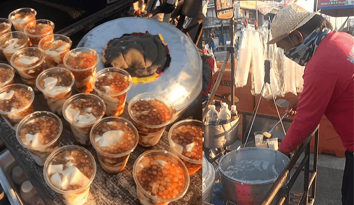 Longtime taho vendor gives away free taho to COVID-19 frontliners