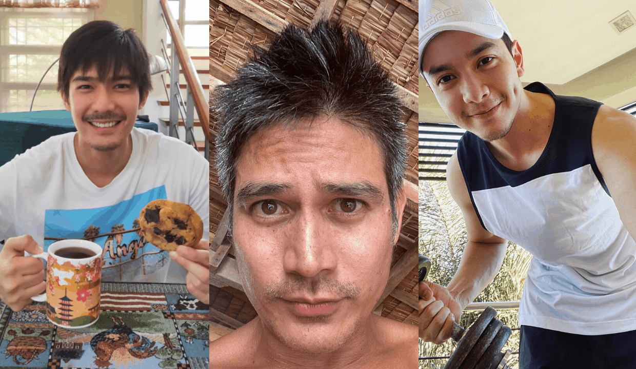 LOOK: Pinoy male celebs sporting their 'quarantine looks ...