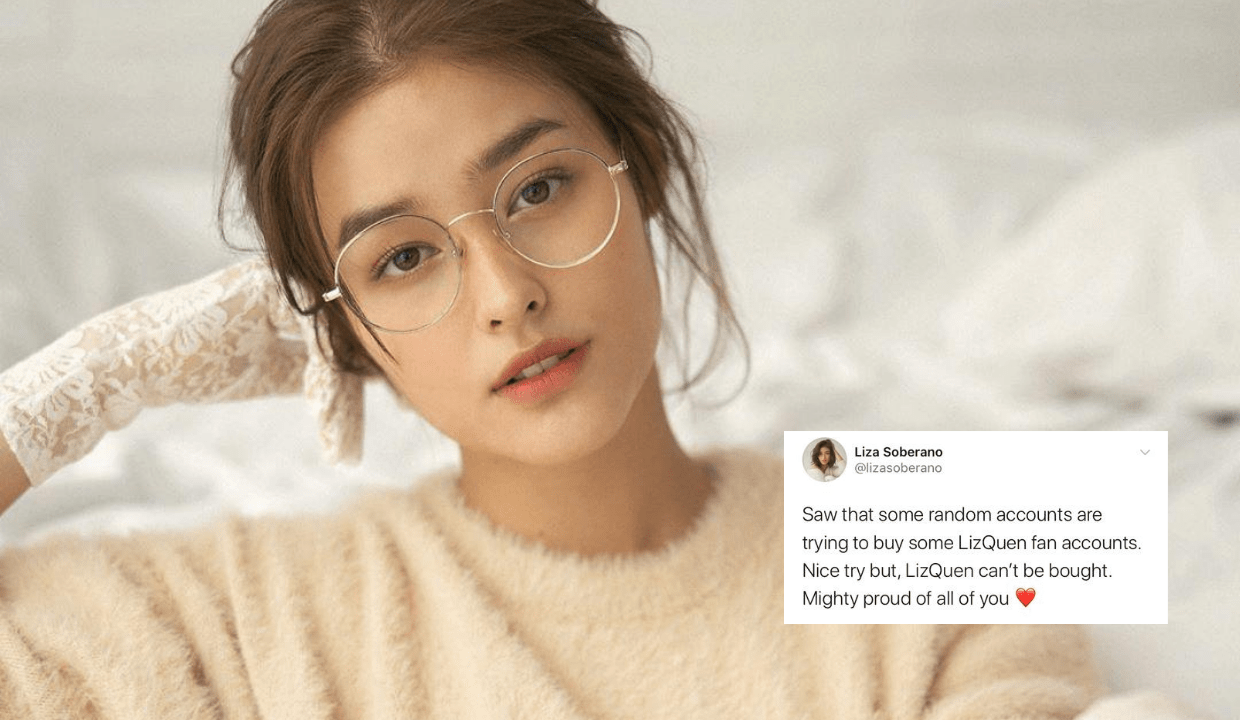 'LizQuen can't be bought': Liza Soberano proud of fans for refusing to sell accounts